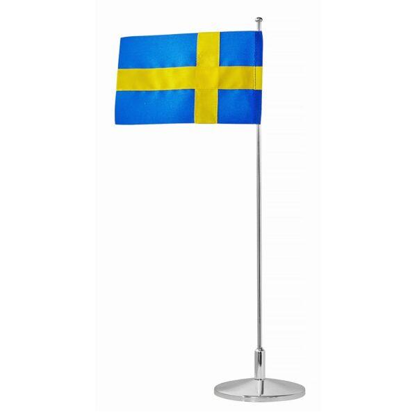 Bordsflagga Nysilver