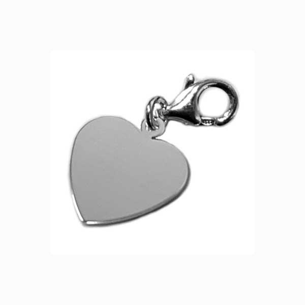 Hjärtansmycke i Silver