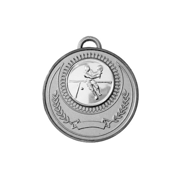 Idrottsmedlaj Z2067 Silver