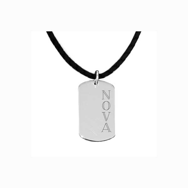 Namnsmycke i 925 Sterling Silver